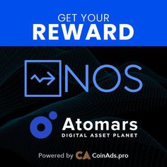 🤩 AtomarsExchange has announced a strategic partnership with NOS Project They are running an amazing Telegram Reward Campaign to boost their community. Participate and claim your Reward here👉t.me/NOS_ATOMARS_RE… Crypto Mining, Blockchain, Cryptocurrency, Good News, Competition, Investing, How To Get, Messages, Marketing
