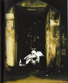 Banksy - Angel, London, 2005