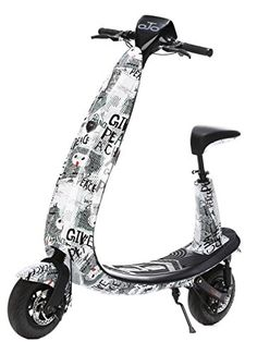 OjO Commuter Scooter for Adults  Ecofriendly Electric  Smart  Street Art ** You can find more details by visiting the image link. Note: It's an affiliate link to Amazon