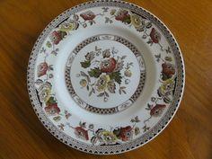 "Midwinter Jacobean tea plate 8.75"" Underglazed hand engraved Made England"