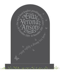 Heavy duty plain tombstone plastic mold decorate yourself