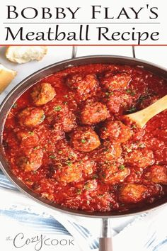 #Meatballs #recipe #perfect #great This Italian Meatball Recipe from Bobby Flay is easy to make ahead of time on the stove top and reheat in the Crock Pot Its perfect for spaghetti and makes a great freezer foodbrp classfirstletterwelcome to our websiteScroll down for more italianrecipe forceful TopicpHere we offer you the biggest magnificently impression about the great you are looking for When you examine the meatballs recipe part of the photograph you can get the massage we want to… Bobby Flay Meatballs Recipe, Beef Meatball Recipe, Food Network Meatballs Recipe, Best Italian Meatball Recipe, Beef Dishes, Pasta Dishes, Food Dishes, Main Dishes, Recipes