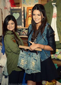 So excited for kendall and kylies new clothing line at pacsun