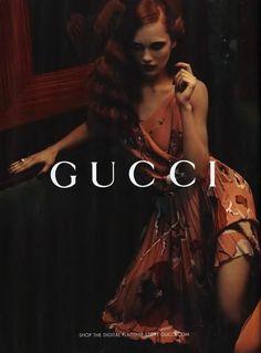 Dark & Sultry  Gucci Pre Fall 2012 Campaign