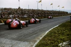 Luigi Villoresi, Ferrari Grand Prix of France, Reims-Gueux, 05 July Get premium, high resolution news photos at Getty Images Ferrari Racing, Ferrari F1, F1 Racing, Formula 1, Grand Prix, Because Race Car, Vintage Race Car, Great Pictures, Monte Carlo
