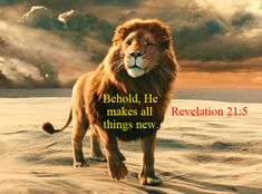 Read: Behold, He makes all things new. http://www.firebreathingchristian.com/archives/7439