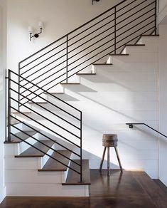 Best Horizontal Rod Iron Stair Railing Stair Railing Design 640 x 480