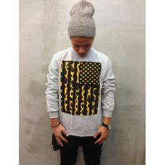 THE LEOPARD  GREY CREWNECK by UNRATED