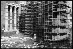 Roma, il restauro dei Fori, 1983 - Italo Insolera