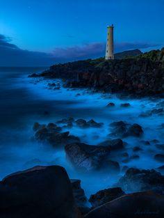 Ninini Point Lighthouse near Lihue, Kauai (Hawaii)
