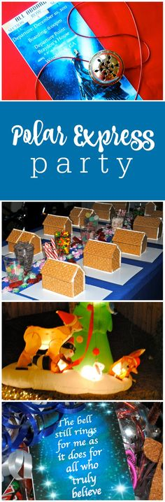 Polar Express Party featured on The Party Teacher   http://thepartyteacher.com/2011/12/13/real-party-braydons-polar-express-7th-birthday/