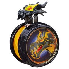 Blazing Team Battlespin Dark Dragon Yo-Yo, Black