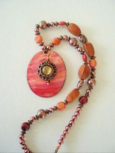 BOHO Necklace Bohemian Jewelry Southwest Fashion by BohoStyleMe