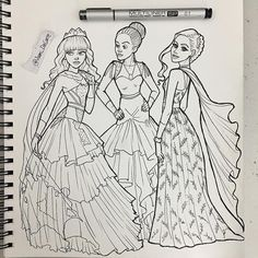 Disney Artwork, Disney Fan Art, Disney Love, Descendants Coloring Pages, Disney Coloring Pages, Cute Disney Drawings, Cute Drawings, Maleficent Halloween, Disney Descendants 3