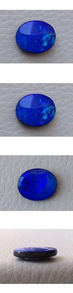 Boulder Opals 181111: Black Boulder Opal Blue Color Oval Shape 3.15 Carats -> BUY IT NOW ONLY: $916 on eBay!