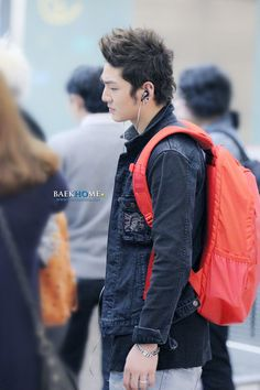Baekho NU'EST Incheon Airport 9