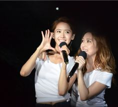 Girls Generation YoonA and Jessica