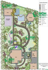 Работы по ландшафтному проектированию и дизайну, оформлению участков и функциональному зонированию территории — Москва