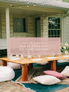 What Hosting An All-Inclusive Retreat Taught Me About Client Experience First Day Of Work, Creating A Business, All Inclusive, Business Inspiration, Event Planning, 5 Ways, Branding Design, Things To Come, Clarity