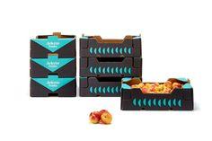 arlette fruits - fruits packaging design - fruit box design. We have developed the naming, branding and packaging of Arlette Fruits