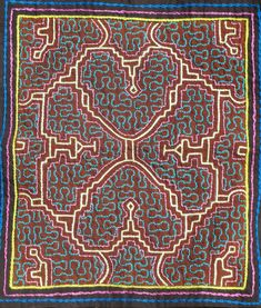 """Shipibo kené 