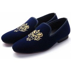 Cheap shoes for, Buy Quality shoes for wedding directly from China shoes genuine leather Suppliers: Blue Mens Loafers Shoes for wedding party Flats Embroidery Lace Slip on Casual Shoes Genuine leather Men Shoes Plus Size 46 Mens Loafers Shoes, Loafer Shoes, Men's Shoes, Dress Shoes, Shoes Men, Leather Moccasins, Leather Heels, Suede Leather, Leather Men