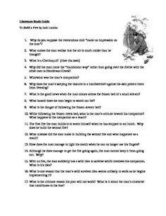 to build a fire essay topics