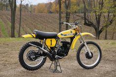 1973 Suzuki RN73 - Roger DeCoster works bike