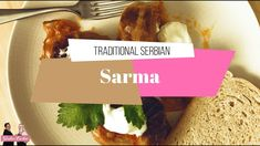 Traditional Serbian Sarma - Stuffed Cabbage
