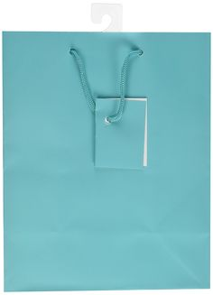 12-PC Solid Color Gift Bags, Matt Laminated, Turquoise Color ** Hurry! Check out this great item : Wrapping Ideas