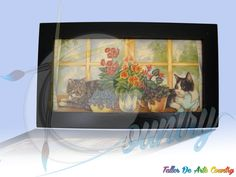 Arte Country, Aquarium, Frame, Painting, Home Decor, Creativity, Fish Stand, Picture Frame, Fish Tank