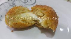 in cucina con vanna: Crocchette di patate dal cuore filante