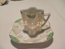 Vintage 1940's  Occupied Japan Demitasse Cup and Saucer