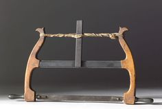 18th Century Framesaw  Making the Modern World - Everyday Life - Work - 1750-1820