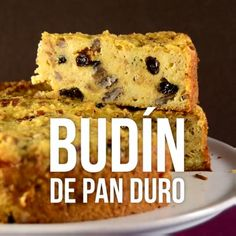 Budín de Pan Duro - Mend Tutorial and Ideas Köstliche Desserts, Delicious Desserts, Dessert Recipes, Yummy Food, Apple Recipes, Sweet Recipes, Food Cakes, Cupcake Cakes, Mexican Food Recipes