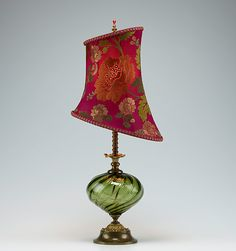 Beth by Susan Kinzig and Caryn Kinzig: Mixed-Media Table Lamp available at www.artfulhome.com