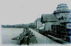 Saint-Malo, le Casino, le sillon, 1904