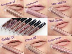 Monday's Lipstick 27 : Nyx et sa lingerie de lèvres. Nyx Cosmetics, Nyx Lip Lingerie, Younique, Lipstick, Beauty, Lipsticks, Cosmetology, Rouge