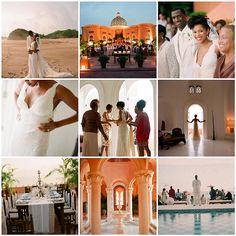 NBA star Antonio McDyess' gorgeous beach wedding #celebritywedding #beachwedding