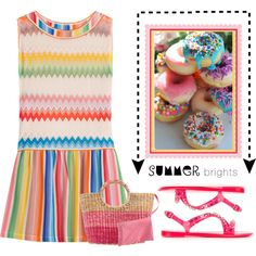 Summer Brights by conch-lady on Polyvore featuring Missoni Mare, Philipp Plein, Missoni and summerbrights