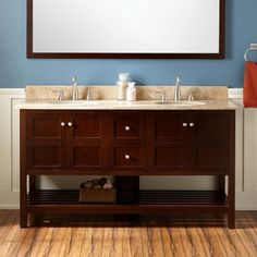"60"" Everett Vanity Vanity for Undermount Sink - Wenge"