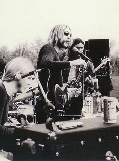Allman Brothers:  Gregg, Duane, and Dickey Betts
