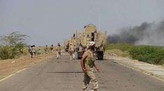#موسوعة_اليمن_الإخبارية l الجيش# اليمني يقطع خطوط إمداد الميليشيات إلى #موزع ومعسكر خالد في #تعز