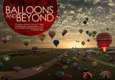 Balloons and Beyond Brochure Cover.