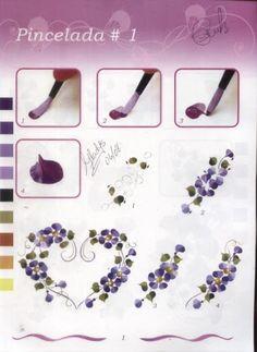 Рисуем цветы 2 - Oksana Volkova - Álbumes web de Picasa