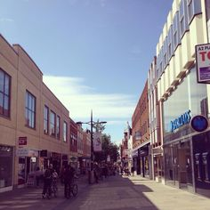 Swindon Town Centre. I took this pic in 2014.