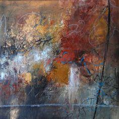 Untitled Acrylic/Mixed Media 24x24 Lisa B. Boardwine