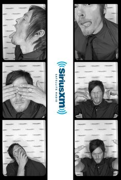 SiriusXM Hits 1 @SiriusXMHits1  Dec 7 We kinda love having Norman Reedus AKA @wwwbigbaldhead in our photobooth!  (1434) Twitter