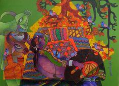Mother & Child 1 by Sunita Dinda
