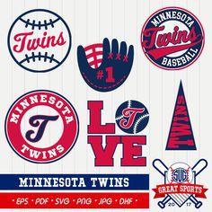 Minnesota Twins SVG, Twins Clipart, Minnesota Twins DXF, Baseball Clipart, Minnesota Clipart,  Clipart SVG, mb-30